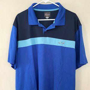 Greg Norman Polo Golf Shirt XXL 2XL Blue